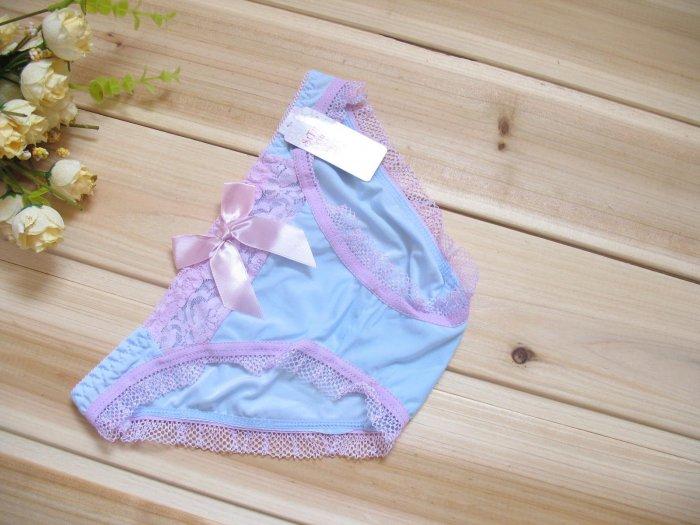 New Sexy Lace Nylon Lingerie Vintage Bikini Panties L43