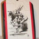 White Rabbit Gift Tag