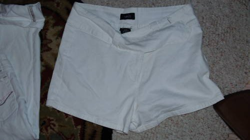 NWOT RUE 21 SEXY WHITE SHORTS 9/10