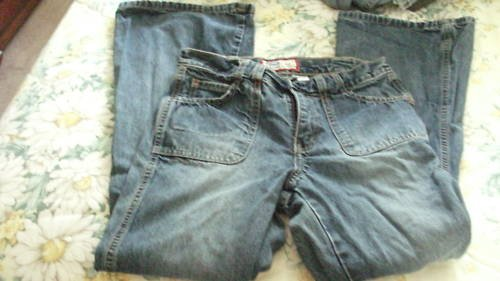 WIDE BOTTON FLARE OLD NAVY JEANS 14