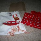 MENS NWT 2 PC DALE JR. 8 SLEEPWEAR l