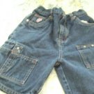 CUTE BOYS CARPENTER FUBU JEAN SHORTS 6