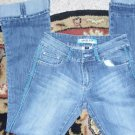 APOLLLO CUTE LADIES CUFF UP JEANS 3/4