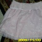 GIRLS  CUTE OLD NAVY PINK/SPARKLE SKIRT 12