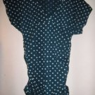 NWOT DEREK HEART POLKA DOT TOP L