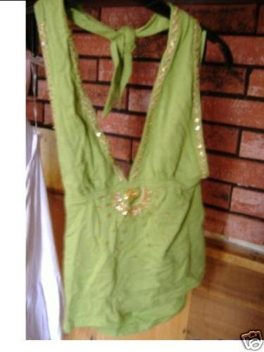 nwt ladies halter top m