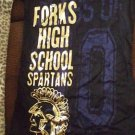 NWOT TWILIGHT SAGA NEW MOONFORKS HS SPARTA TOP L JUNIOR