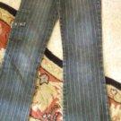 Awsome Stretch Bubblegum jeans 3/4