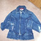 STRETCH  TOMMY HILFGER JEAN JACKET SIZE S