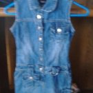 girls squeeze jean dress size 7