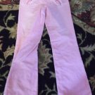 CUTE PINK DESTROYED CORDEROYS SQUEEEE GIRL JEANS 10