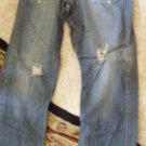 Destroyed Vintage Fit Urban Pipeline Jeans Size 32/30