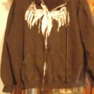 heavy boys mad engine marvel hoody zip-up size L