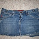 LADIES DESTROYED HOLLISTER CALI MINI SKIRTS 0,1 & 5