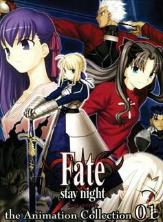 FATE STAY NIGHT [2 DVD] TV EPS 1-24 COMPLETE ENGSUB SET