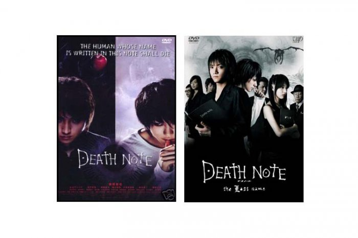 Death Note Movie 1 & 2 COMPLETE DVD Set w/ English Sub