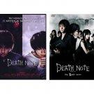 Death Note Movie 1 & 2 COMPLETE DVD Set w/ English Sub