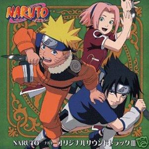 NARUTO OST ORIGINAL VOL.3 CD SOUNDTRACK