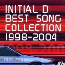 INITIAL D BEST SONG COLLECTION 1998-2004 CD SOUNDTRACK