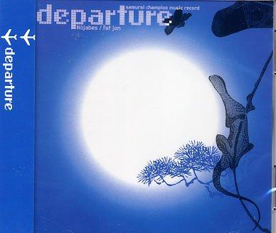 SAMURAI CHAMPLOO DEPARTURE CD SOUNDTRACK