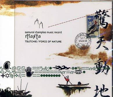 SAMURAI CHAMPLOO FORCE OF NATURE CD SOUNDTRACK