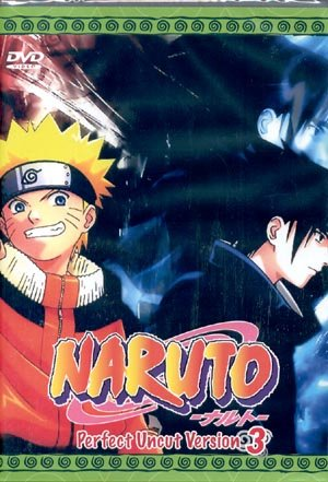 NARUTO TV PERFECT UNCUT VERSION PART 3 [3 DVD]