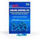 Airline Control Kit W/4 Plastic Tees & 5 2way Valves