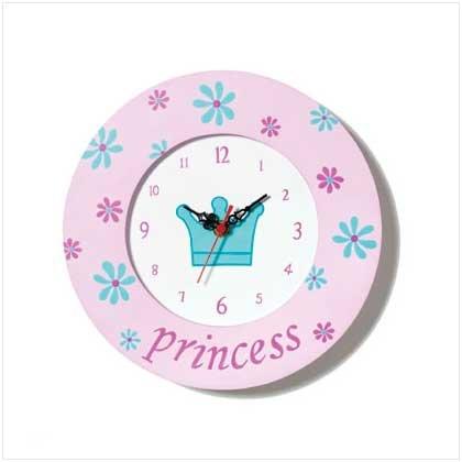 Girls Princess Wall Clock