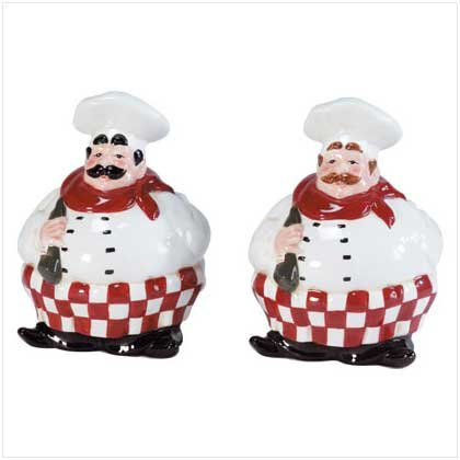 Chefs Salt And Pepper Set