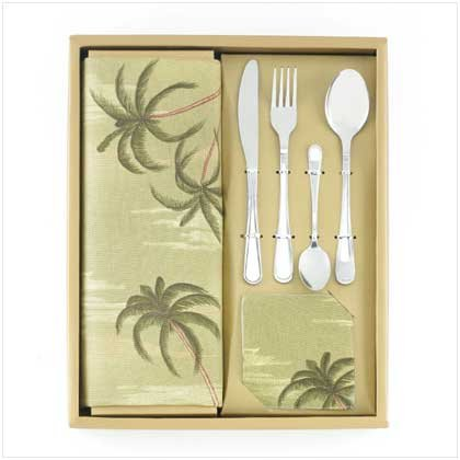 12 Piece Tabletop Set - Cutlery Napkin Placemats