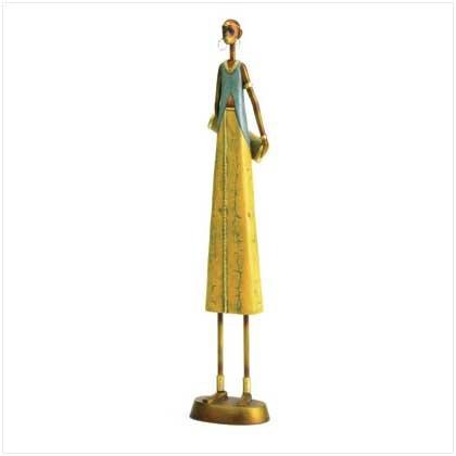 Tribal Woman Figurine