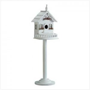 Wood Victorian Birdhouse/Feeder