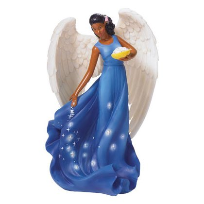Angel with Stars Figurine