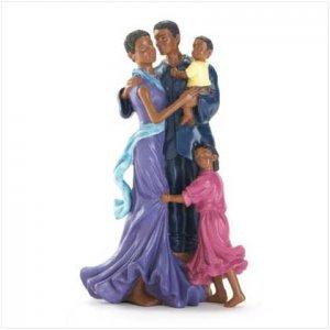 Family Of 4 Figurine