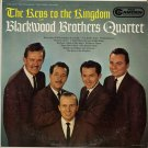 BLACKWOOD BROTHERS QUARTET--THE KEYS TO THE KINGDOM Vinyl LP
