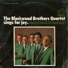 THE BLACKWOOD BROTHERS QUARTET--SINGS FOR JOY Vinyl LP