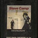 STEVE CAMP--START BELIEVIN' 8-Track Tape