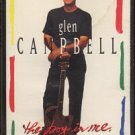 GLEN CAMPBELL--THE BOY IN ME Cassette Tape