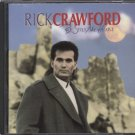 RICK CRAWFORD--BE STILL MY HEART Compact Disc (CD)