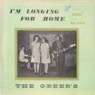 THE GREER'S--I'M LONGING FOR HOME Vinyl LP
