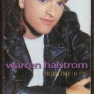 WARREN HALSTROM--FRIENDS THRU THE FIRE Cassette Tape (CANADA)