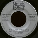 "HARVEST--""""THE BLOOD OF THE LAMB"""" (3:47) (STEREO/MONO) 45 RPM 7"""" Vinyl"