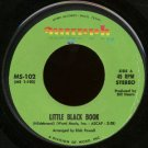 "RAY HILDEBRAND--""""LITTLE BLACK BOOK"""" (3:38)/""""I LAUGHED"""" (2:20) 45 RPM 7"""" Vinyl"