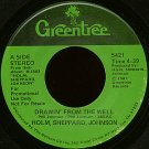 "HOLM, SHEPPARD, JOHNSON--""""DRAWIN' FROM THE WELL"""" (4:39) (BOTH SIDES STEREO) 45 RPM 7"""" Vinyl"