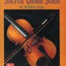 BURTON ISAAC--SACRED VIOLIN SOLOS Songbook