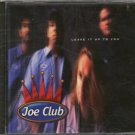 JOE CLUB--LEAVE IT UP TO YOU Compact Disc (CD)