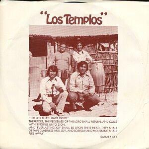 "LOS TEMPLOS--""""MI BUEN JESUS""""/""""THE JOY THAT I HAVE INSIDE"""" 45 RPM 7"""" Vinyl"
