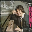 DONY MCGUIRE--THIS IS DONY Vinyl LP