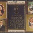 THE MONTGOMERY'S--CHARLOTTE'S FLIGHT Cassette Tape