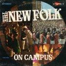 THE NEW FOLK--ON CAMPUS Vinyl LP